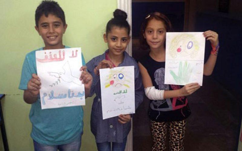 Сириските деца и млади потпишаа апел за мир во Сирија