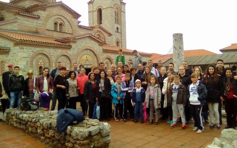 Верниците од Свети Иван Крстител на поклонение во Охрид и Битола