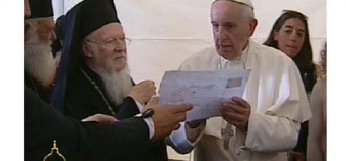 Папата Фрањо и почесниот Папа со пофалби за Вартоломеј I