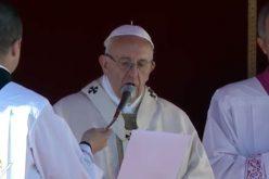 Папата: Своите накани доверете ги на Дева Марија