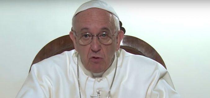 (Видео) Молитвена накана на Папата за октомври
