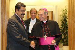 Папата се сретна со претседателот на Венецуела