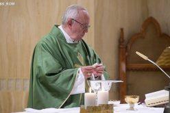 Папата: Царството Божјо расте незабележано и преку послушноста