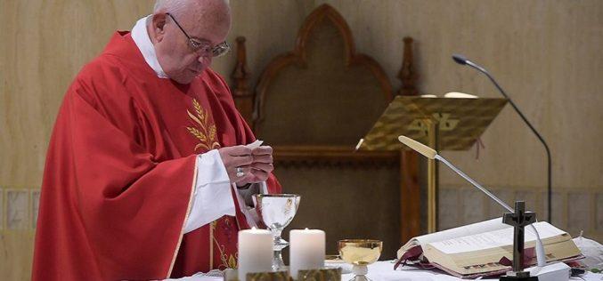 """Папата Фрањо: """"Исус кој моли за нас е темел на нашиот живот"""""""