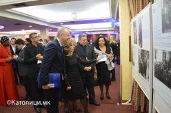 "Отворена изложбата ""Мајка Тереза – светица од Скопје, светица на светот"""