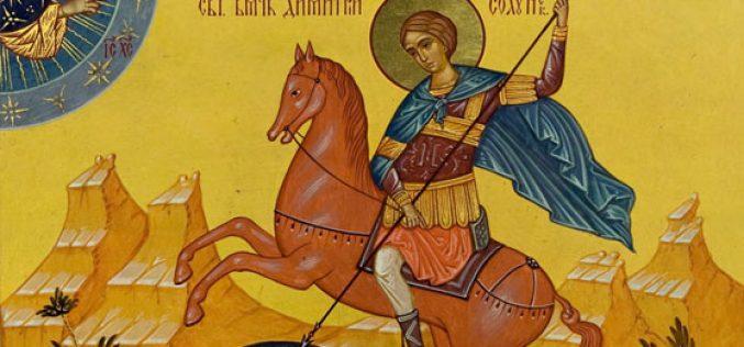Писмо на Атанасиј Библиотекарот до Карло Велики за Свети Димитриј