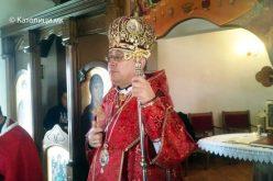 Владиката Стојанов служеше света Литургија во Сарај