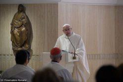 Папата: Љубовта Божја плаче заради нашата неверност