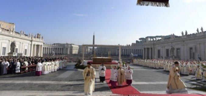 Благодарност на Папата за свршетокот на Јубилејната година