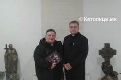 """Бискупот Стојанов го прими ректорот на семинаријата """"Редемпторис Матер"""" во Сараево"""