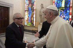 Папата го прими режисерот Мартин Скорсезе