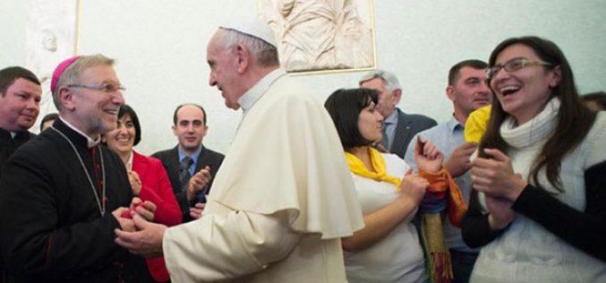 Папата прими делегација на верници католици од Грузија