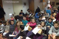Божиќна работилница за деца во Скопје