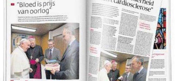 Белгиски католички весник објави разговор со Папата