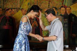 Мис Универзум подарила луксузни подароци на филипинскиот Каритас