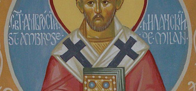 Свети Амвросиј Милански