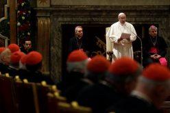 Папата на Римската курија зборуваше за потребата од реформа