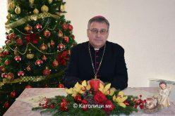 (ВИДЕО) Божиќна честитка на бискупот Стојанов