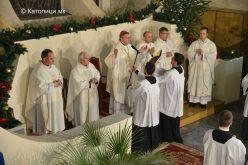 Во Скопската катедрала се служеше свечена Божиќна Миса