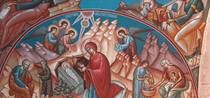 За празникот на раѓањето Христово – Божиќ