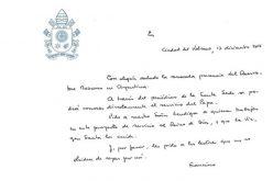 Папата: Радост за присуството на Осерваторе Романо во Аргентина