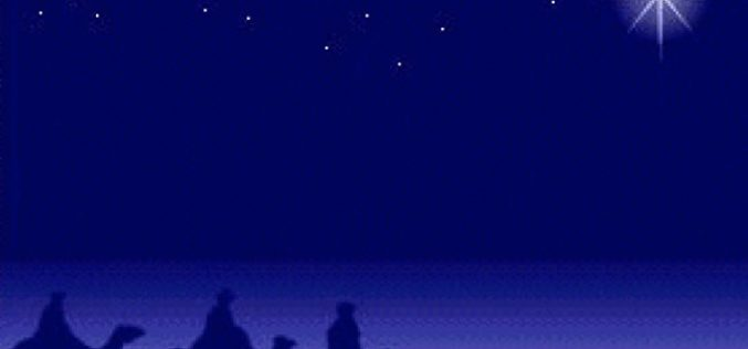 Божиќната ѕвезда и мотиката