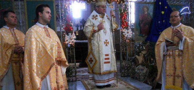 Божиќна Архиерејска Литургија во Нова Маала