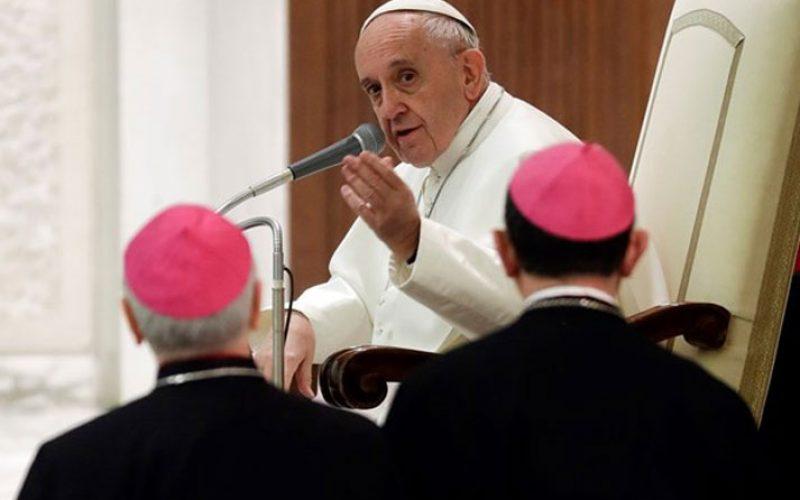 Папата: Грижата на звања бара страст и бесплатност