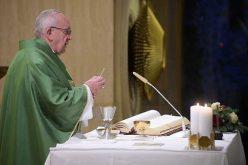 Папата: Исус со авторитет му говореше на народот