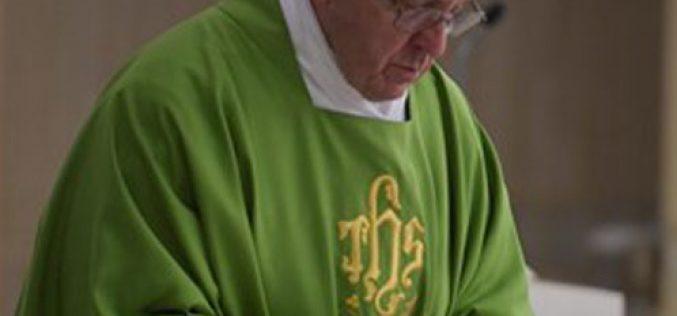 Папата: За да Го следиме Исус треба да ризикуваме