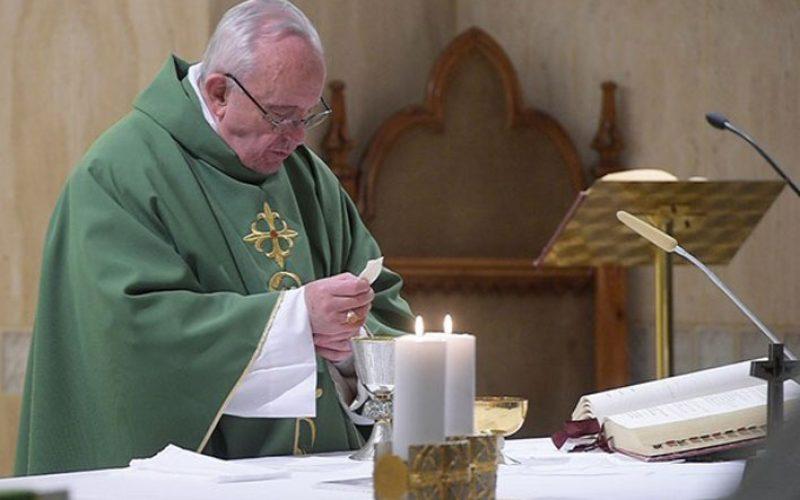 Папата: Христијанскиот живот е секојдневна борба