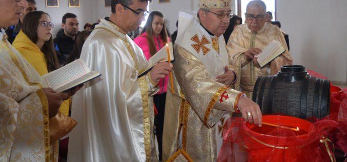 Епископот Стојанов на Богојавление служеше Литургија во Струмица