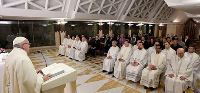 Папата: Каков е мојот одговор на Господ?
