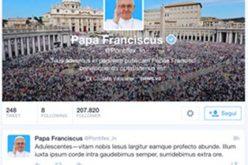 Папата на твитер пишува за единството на христијаните