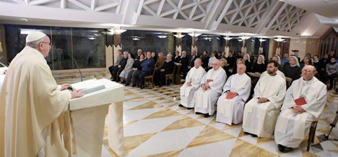 Папата: Исус го барал на народот, а народот Исус