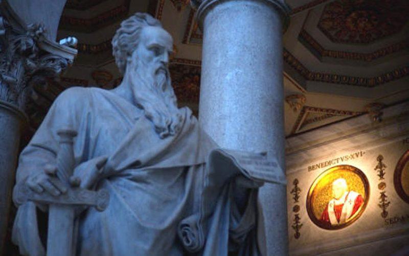 Бискупот Стојанов служеше во базиликата Свети Павле во Рим