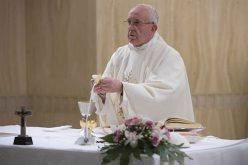 Папата: Во искушенијата да не водиме дијалог со ѓаволот