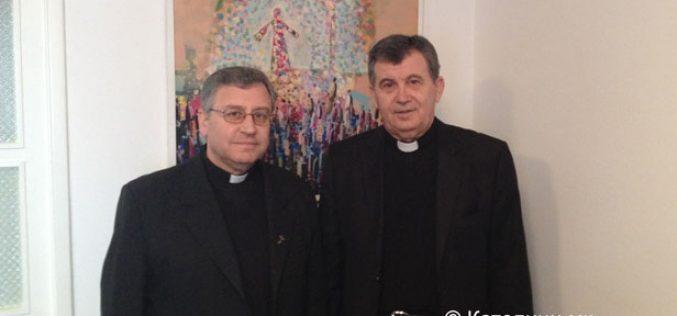 Бискупот Стојанов во посета на Босна и Херцеговина