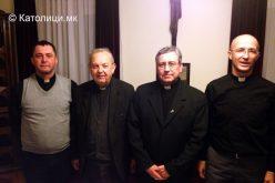 Бискупот Стојанов го посети Богословскиот факултет во Сараево