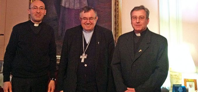 Бискупот Стојанов се сретна со кардинал Пуљиќ