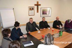 Епископот Стојанов го посети Каритас Босна и Херцеговина