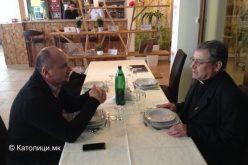 Бискупот Стојанов го посети центарот за млади во Сараево
