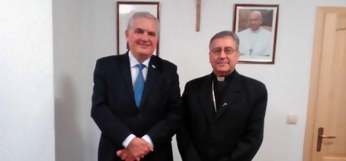 Бискупот Стојанов го прими амбасадорот на Аргентина