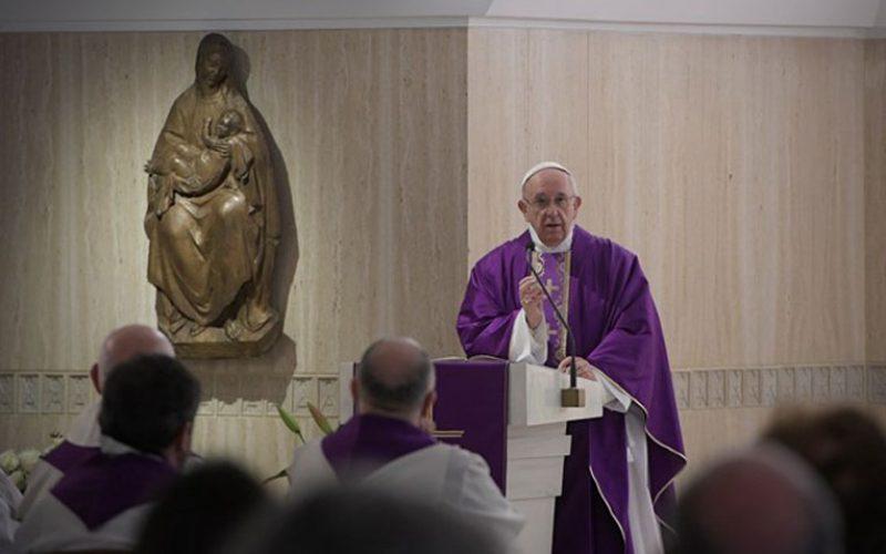 """Папата: """"Прави добро во конкретноста"""""""