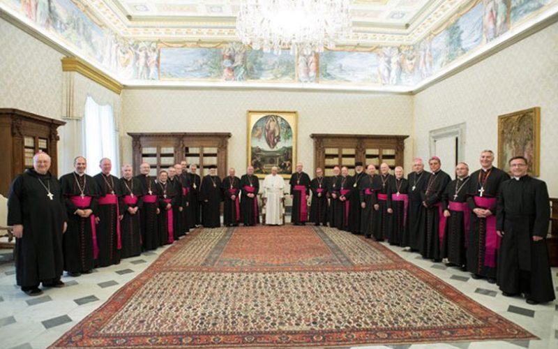 Канадските бискупи кај папата Фрањо