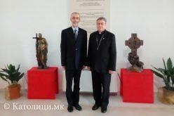 Бискупот Стојанов го прими амбасадорот на Словенија
