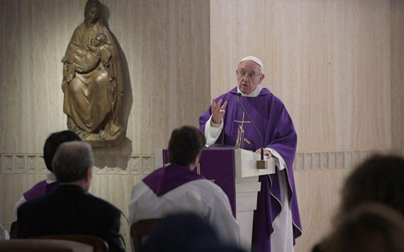 Папата: Исус суди според милосрдието