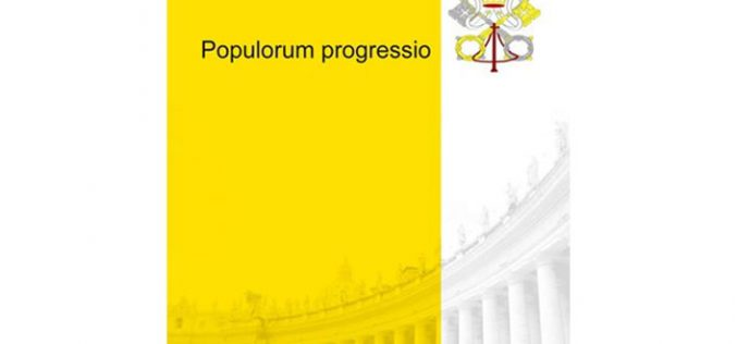"""50 години од енцикликата """"Populorum progressio"""""""