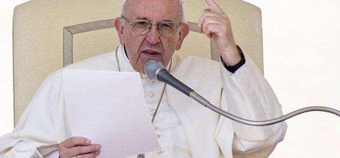 Апел на папата Фрањо на Генералната аудиенција