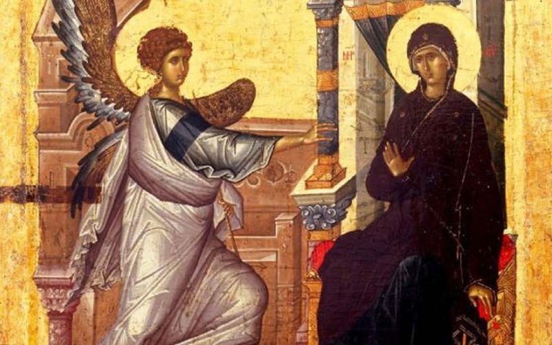 Благовештение – Таинството на зачнување